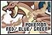 Pokemon Red, Blue, & Green: